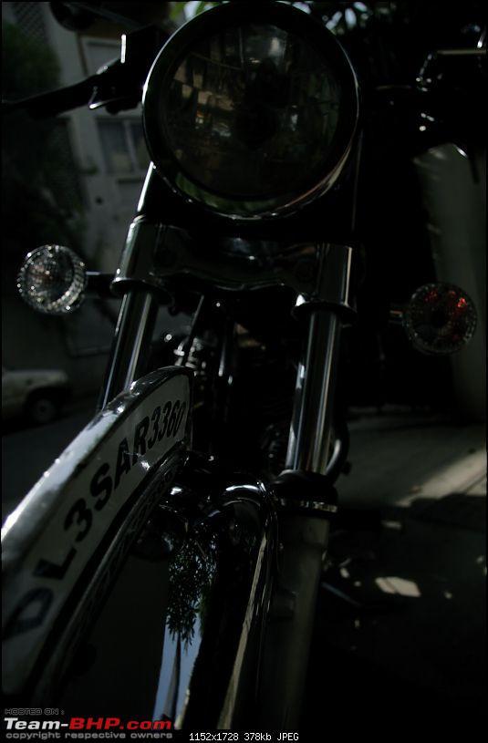 """""""bitten the bullet"""" - my *new* used RE 500 ES-img_0787.jpg"""