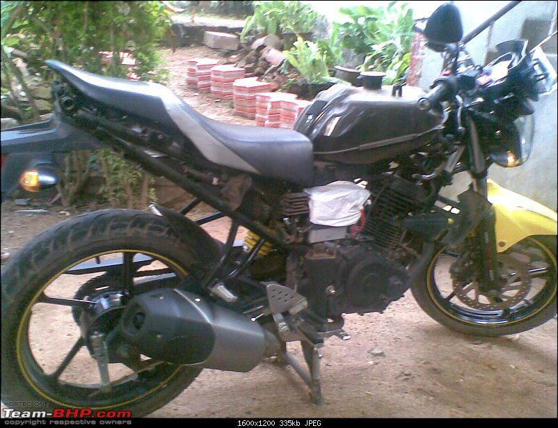 """""""My Elle Story"""" - Living with a Yamaha Fz S 
