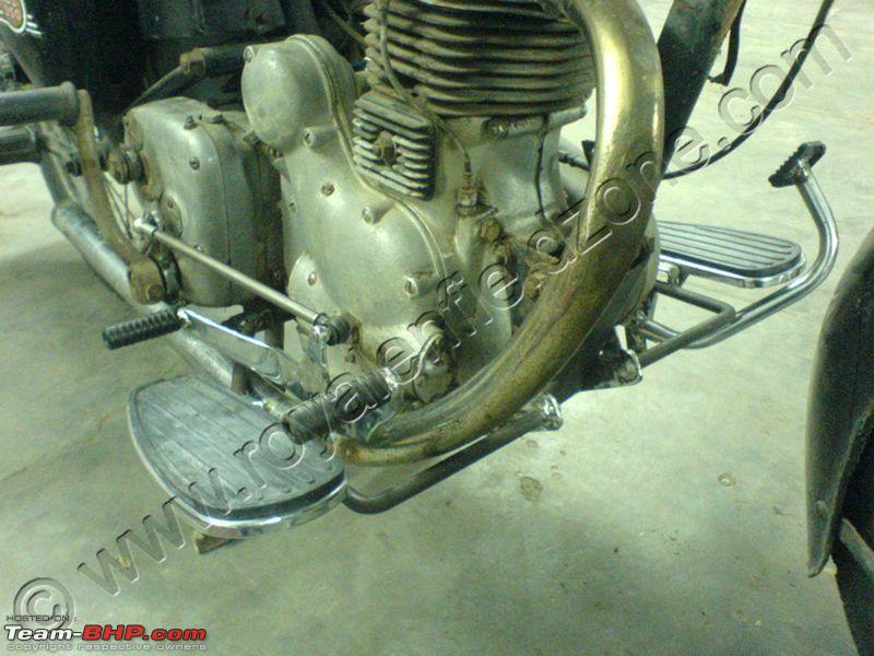 Royal Enfield Bobber Home Project - Advice Needed - Team-BHP