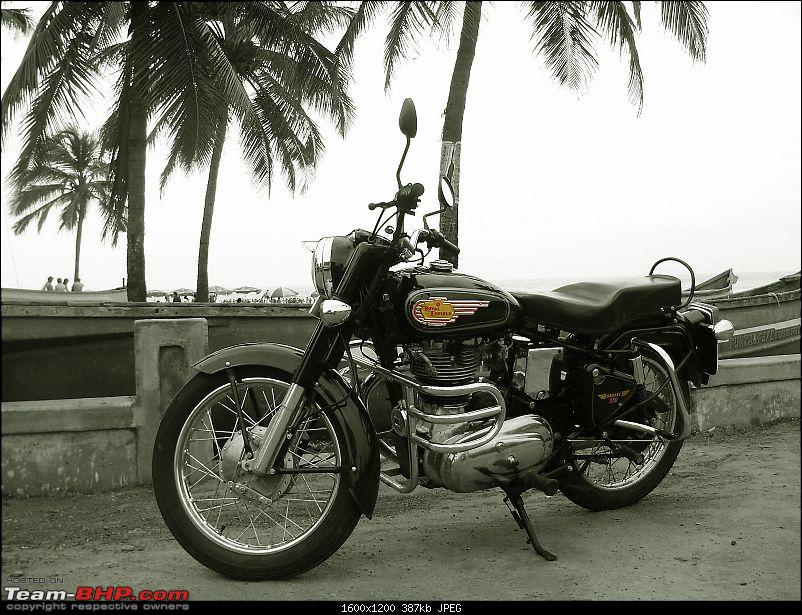 10,000 kms review of the legendary Royal Enfield STD 350 (Black). EDIT: Now sold-p8110147-bw.jpg