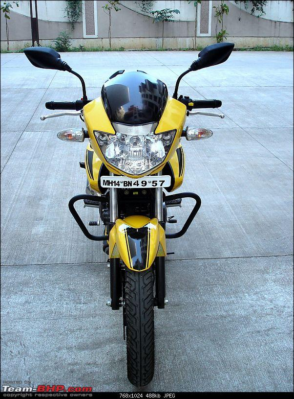 TVS Apache RTR - Initial Ownership Report EDIT: Fun on Twisties, Pics on Pg7-front.jpg