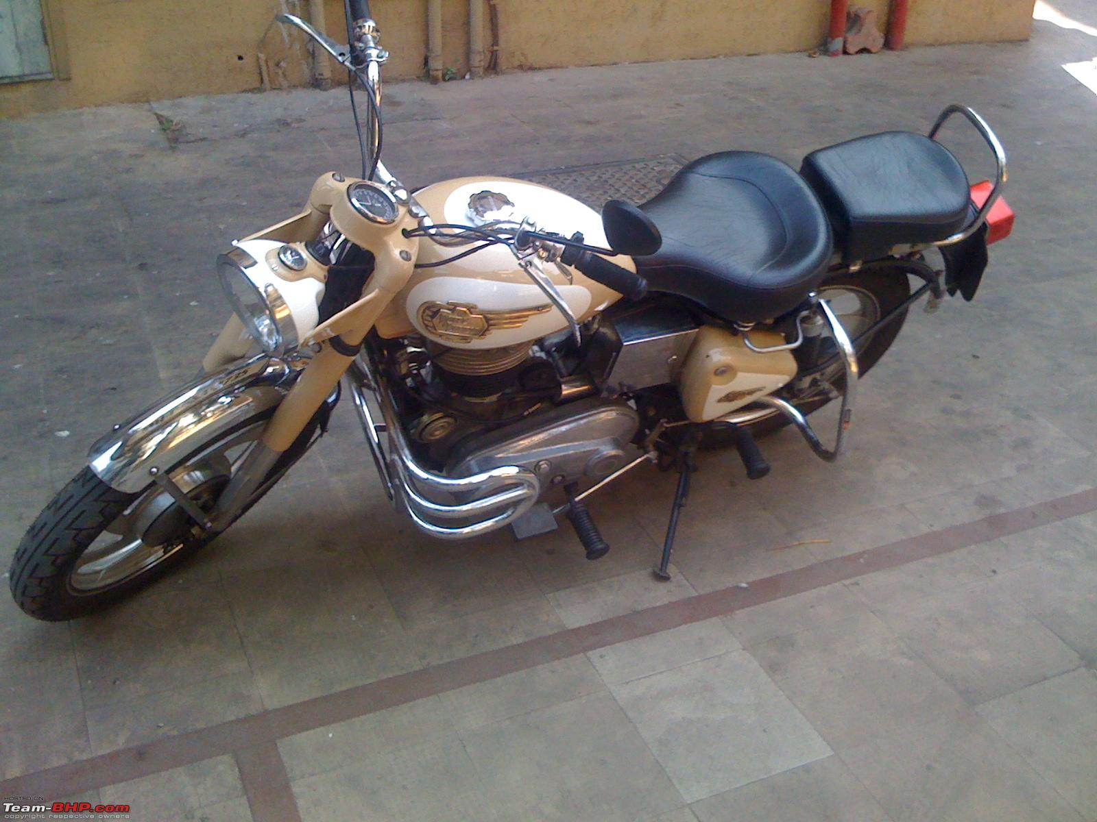 Modified Indian bikes - Post your pics here and ONLY here