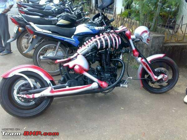 Bikes Modified In India Attached Images