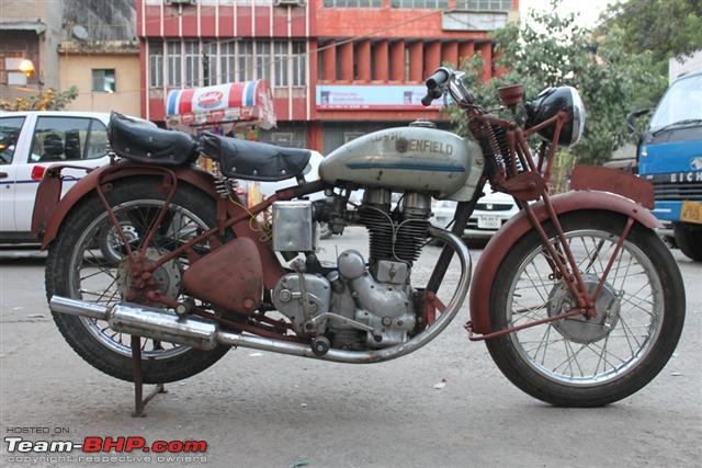 Royal Enfield Rigid Rear Frame OR Extended Swing Arm - Team-BHP