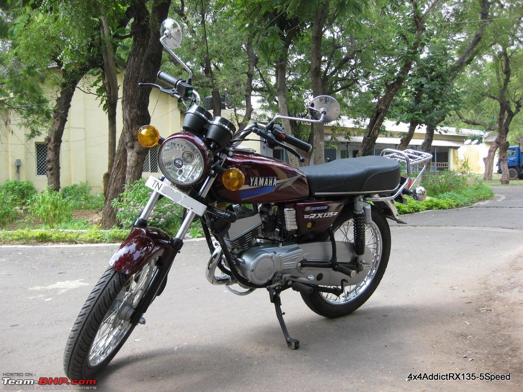 Yamaha RX135 5 Speed Restoration   brand cars reviews free updated