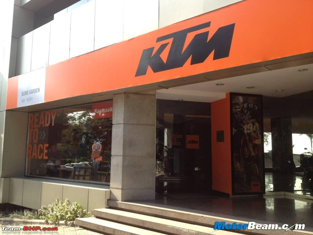 Ktm Showroom In Pune