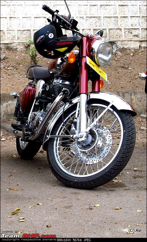 "Royal Enfield Classic Chrome 500 : The ""Maroon Marauder"" THUMP's home !!!!!-img_0280.jpg"