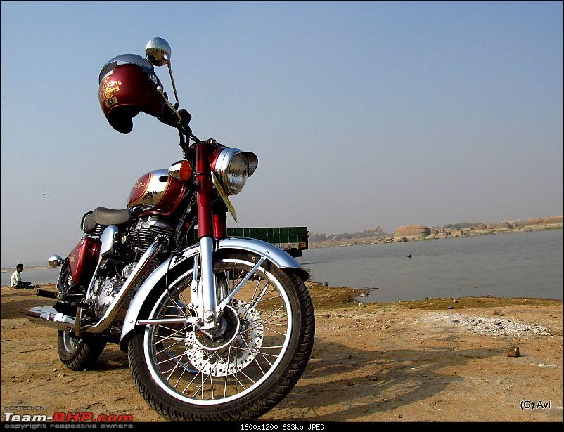 "RE Classic Chrome 500 (12,500kms Done):The ""Maroon Marauder"" THUMP's home!!-img_03301.jpg"