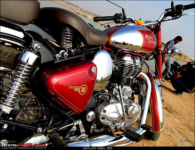 "RE Classic Chrome 500 (12,500kms Done):The ""Maroon Marauder"" THUMP's home!!-img_03361.jpg"