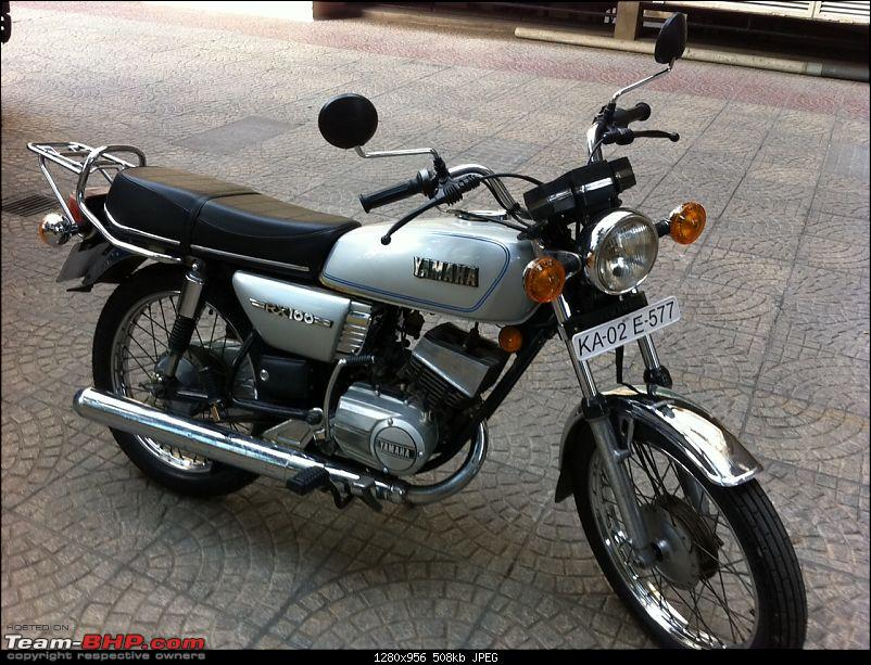 Yamaha Rx100 At Last Team Bhp