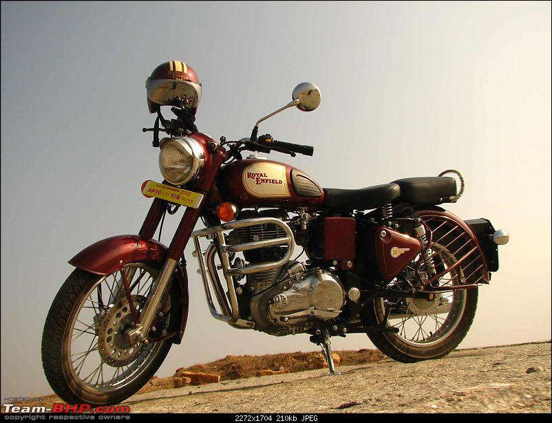 All T-BHP Royal Enfield Owners- Your Bike Pics here Please-red_strykr.jpg