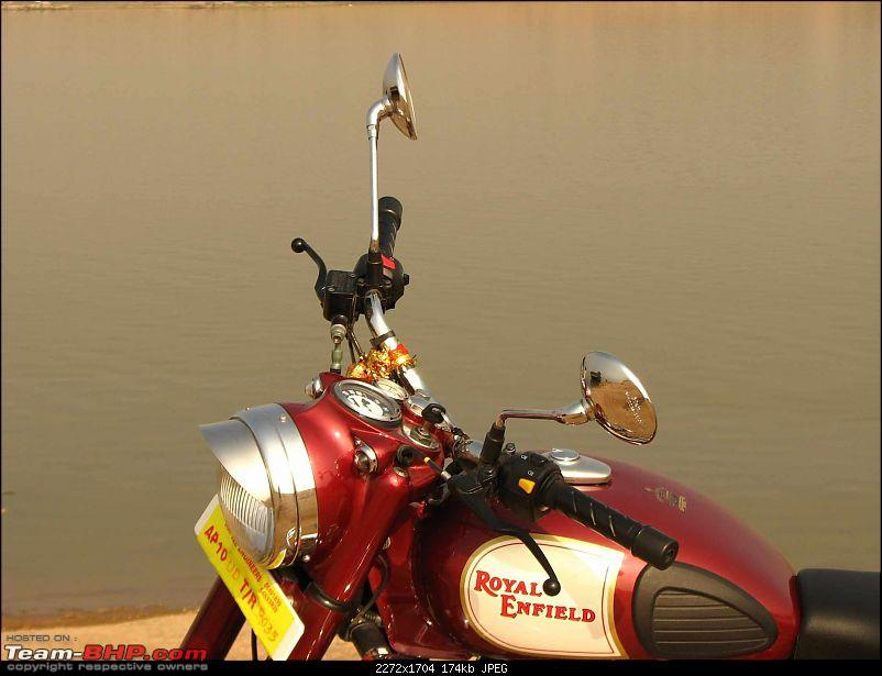 All T-BHP Royal Enfield Owners- Your Bike Pics here Please-red_strykr-quarter-shot.jpg