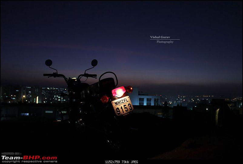 10,000 kms review of the legendary Royal Enfield STD 350 (Black). EDIT: Now sold-bike1.jpg