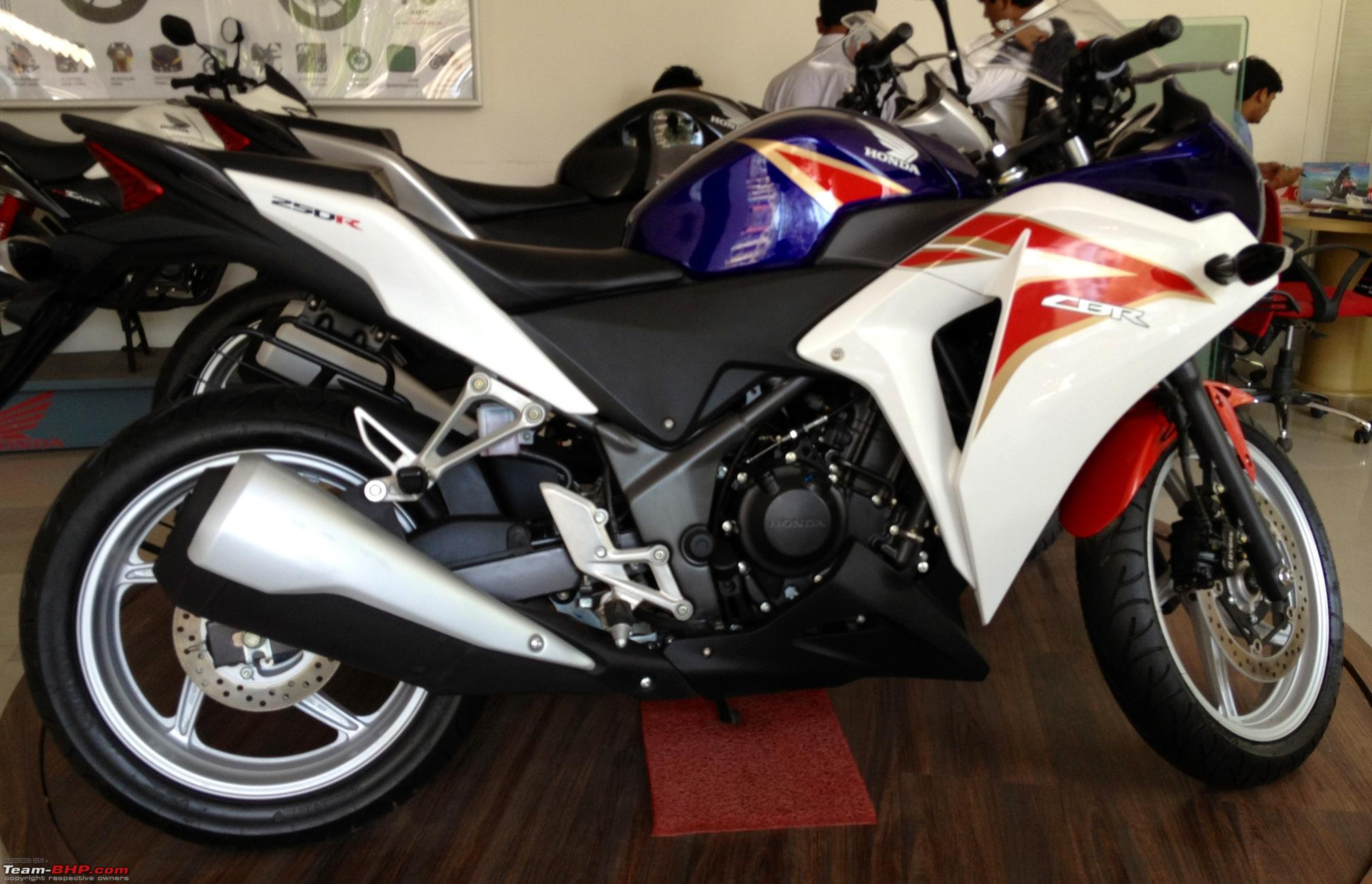 Honda cbr250r 2012 facelift edit early march launch price hike
