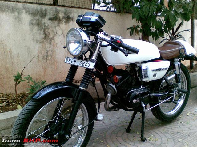 Yamaha Rx100 Modified Black