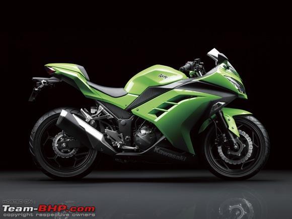 Kawasaki Ninja R Barring