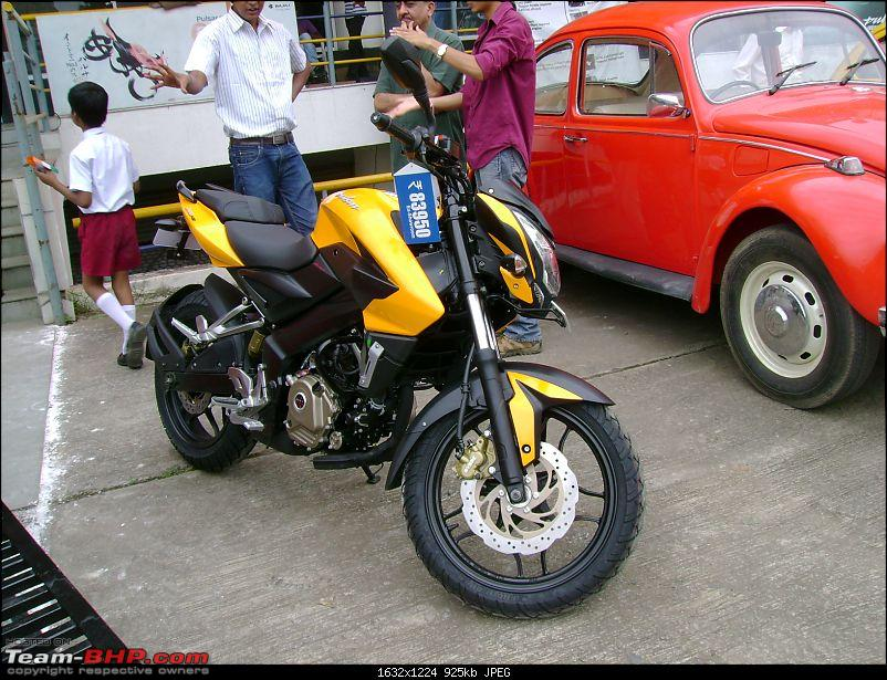 The All New Bajaj Pulsar 200NS Unveiled! Update: Rs 84,096- ex showroom Pune-dsc09718.jpg
