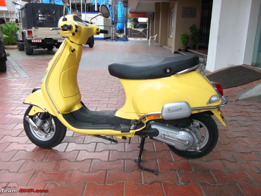 my vespa lx 125 yellow wasp italian art in motion page 4 team bhp. Black Bedroom Furniture Sets. Home Design Ideas