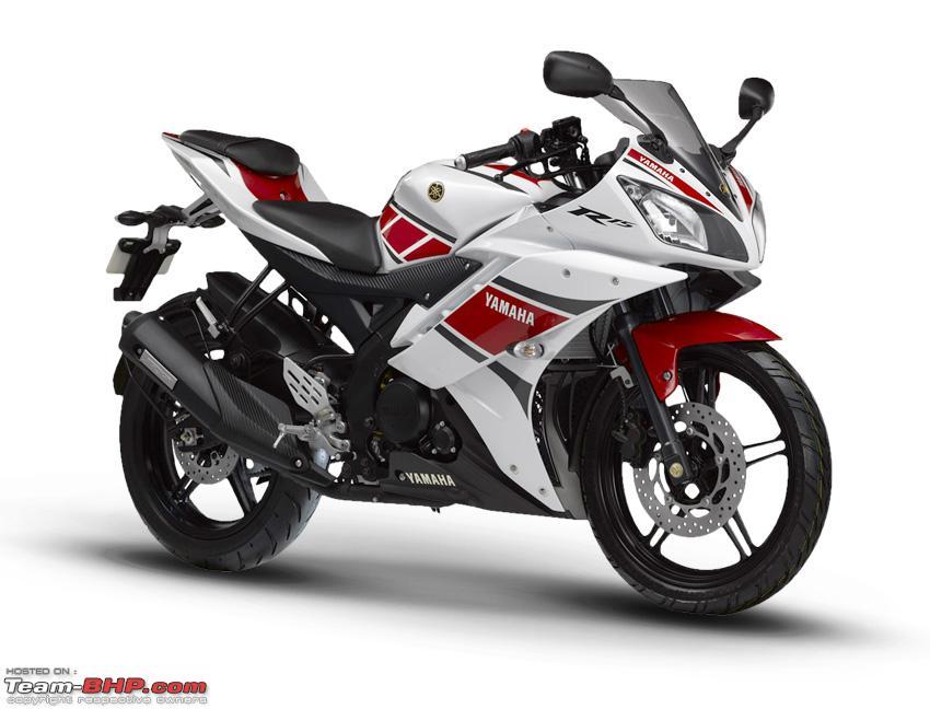 R15 V2 Red And White 2012 Yamaha R15 v2.0, ...