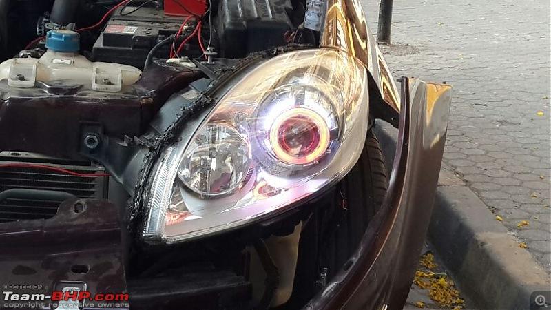 Projectors, HID, ICE etc. - Sainath Auto Ultimate (Khar, Mumbai)-install2.jpg
