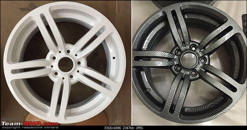 Hydrographic Printing for Alloy Wheels & Parts : H2O Graphix (Mumbai)-car-alloy-before.jpg