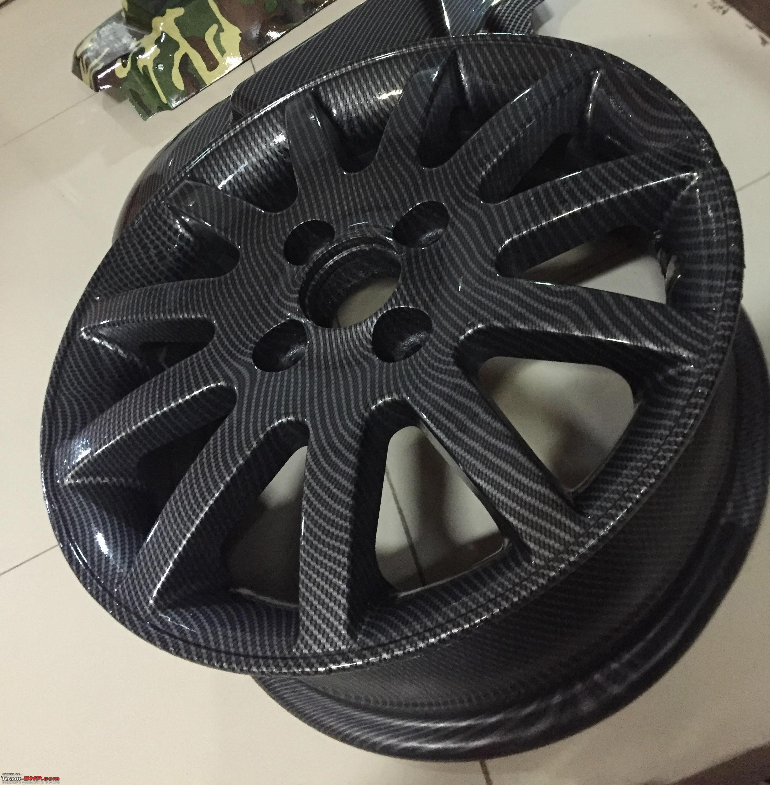 Hydrographic Printing for Alloy Wheels & Parts : H2O Graphix