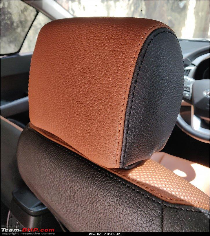 Hi-Tech automotive seat covers - Malad West, Mumbai-front-headrest-zoomin.jpg