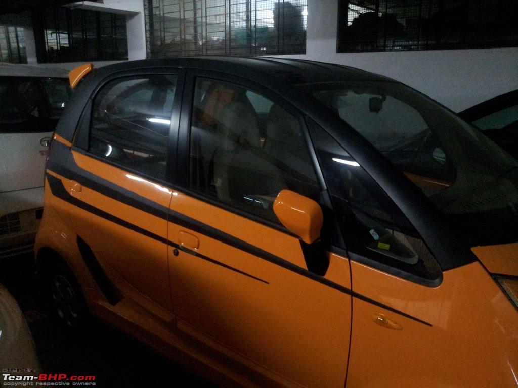 Design of tata nano car - Tata Nano Test Drive Review 20121109_172326 2 Jpg