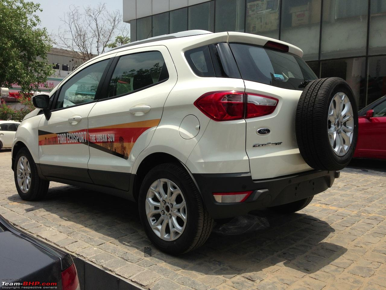 Ford Ecosport Interior White Ford EcoSport : Offici...