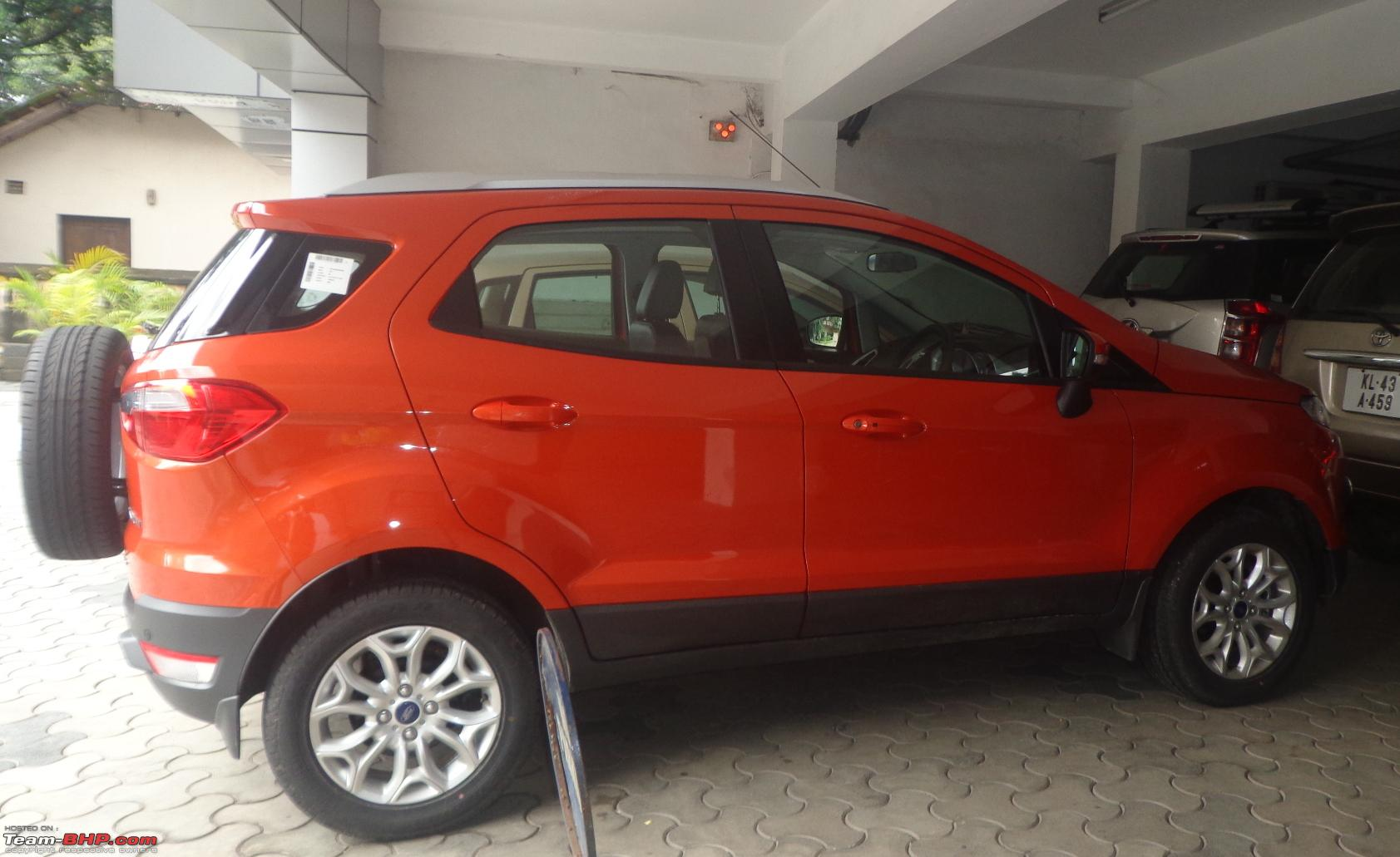 Ford Ecosport Official Review Page 213 Team Bhp
