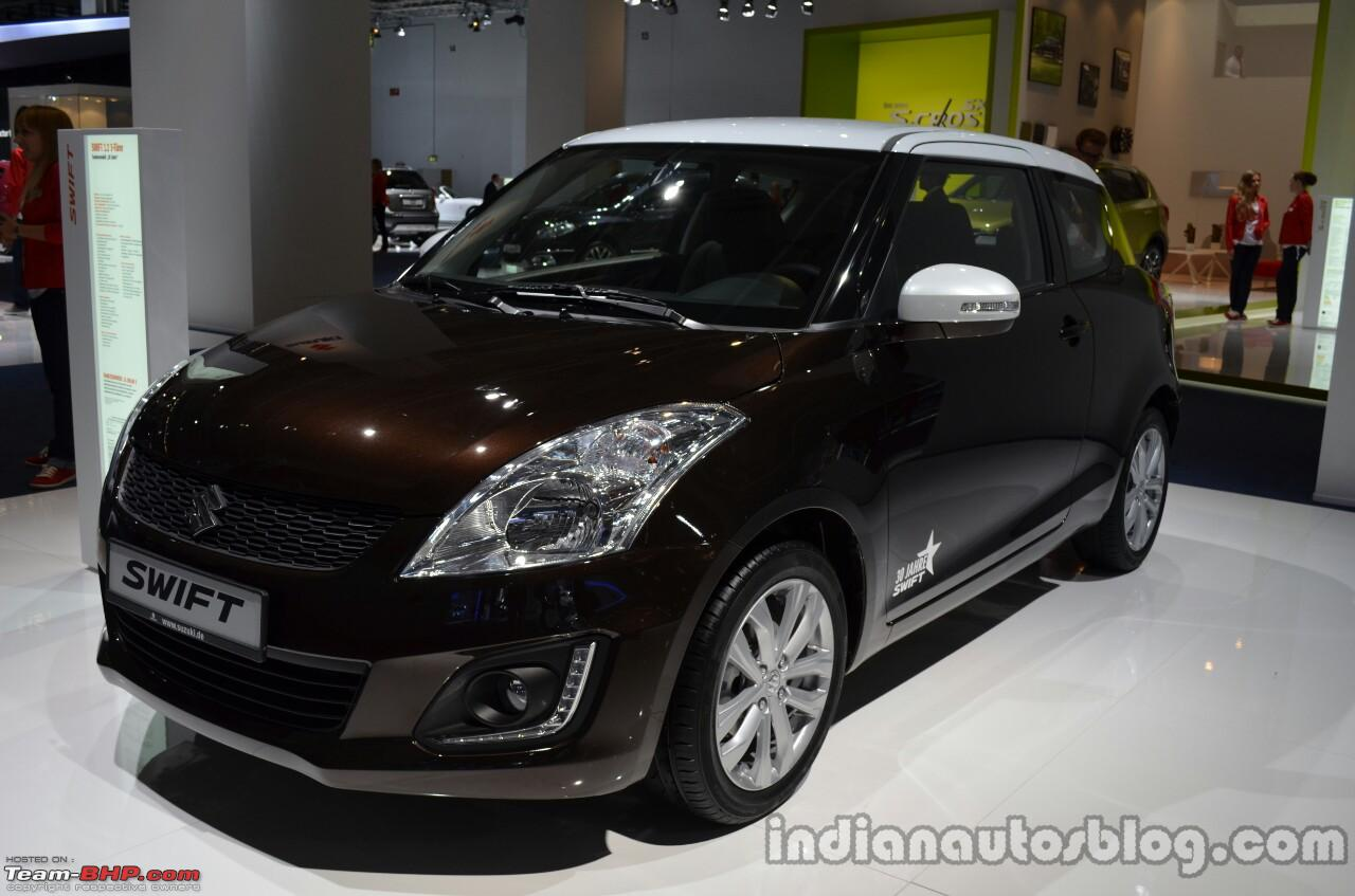 Maruti swift test drive review frontthreequarterofthesuzukiswift30jahreedition jpg