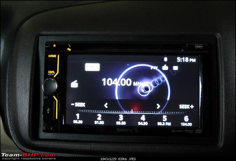 Honda Amaze : Official Review-radio.jpg
