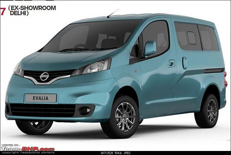 nissan evalia official review page 15 team bhp. Black Bedroom Furniture Sets. Home Design Ideas
