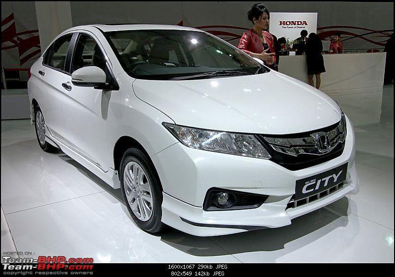 Honda City : Official Review White