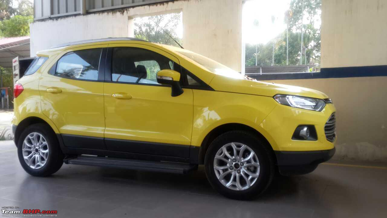 Image Result For Ford Ecosport Yellow For Sale