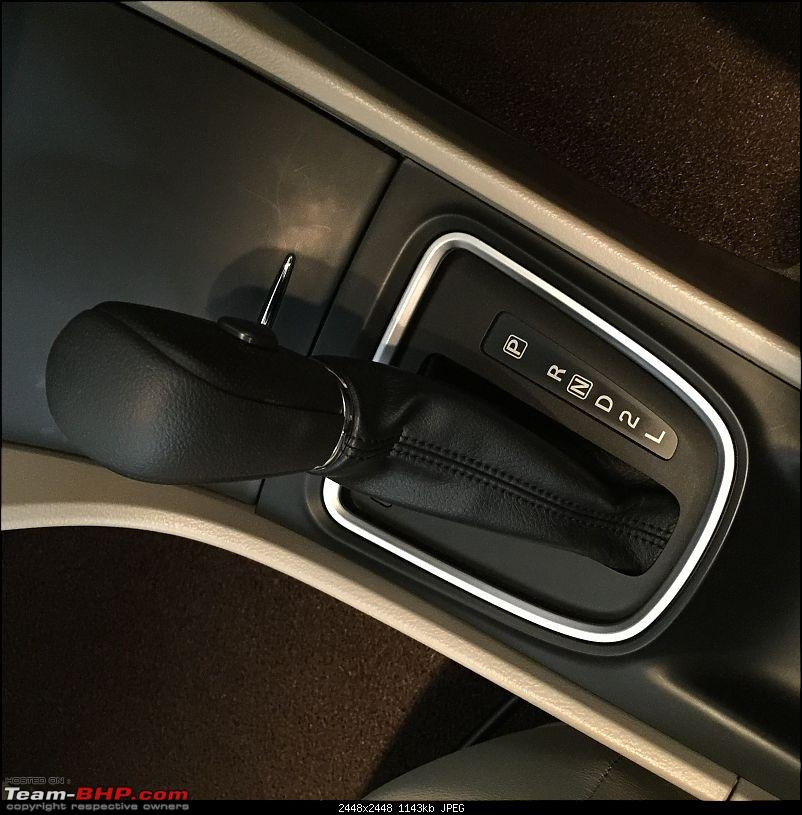 Maruti Ciaz : Official Review-lever.jpg