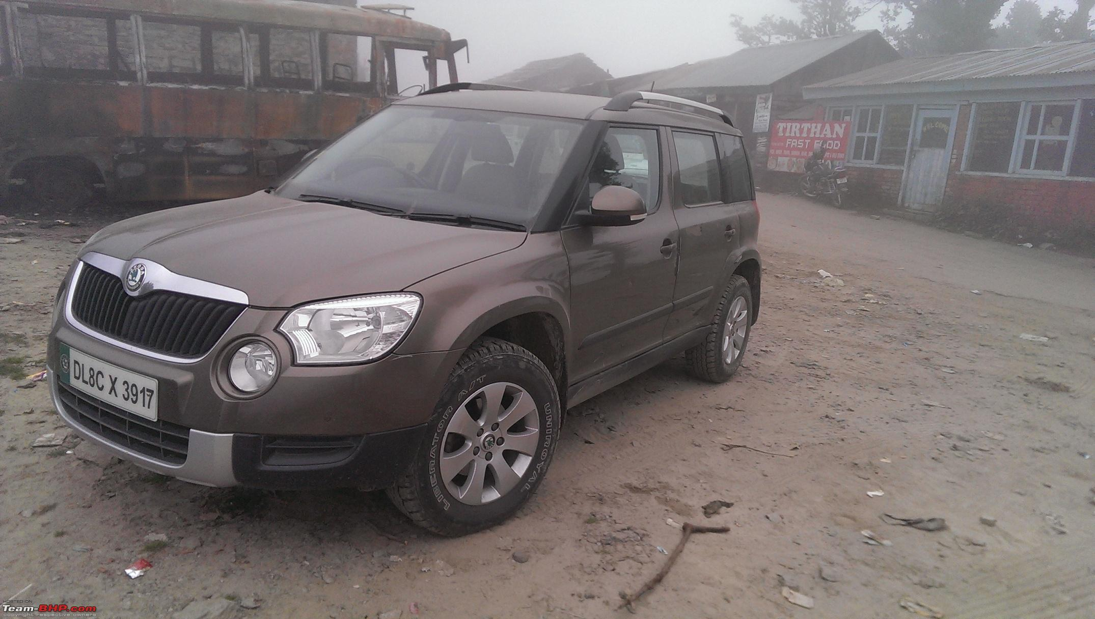 skoda yeti review price pictures page 120 team bhp. Black Bedroom Furniture Sets. Home Design Ideas