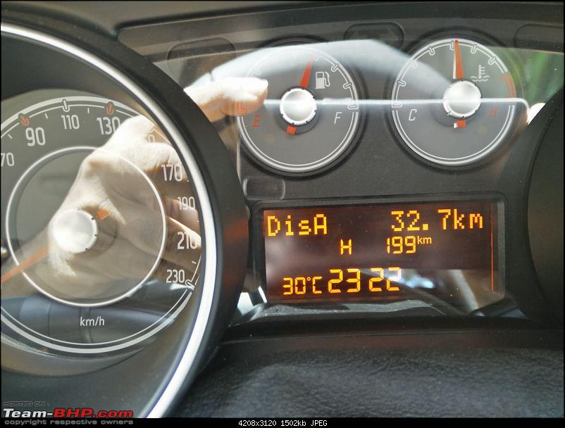 Fiat Linea T-Jet : Test Drive & Review-speedo1.jpg