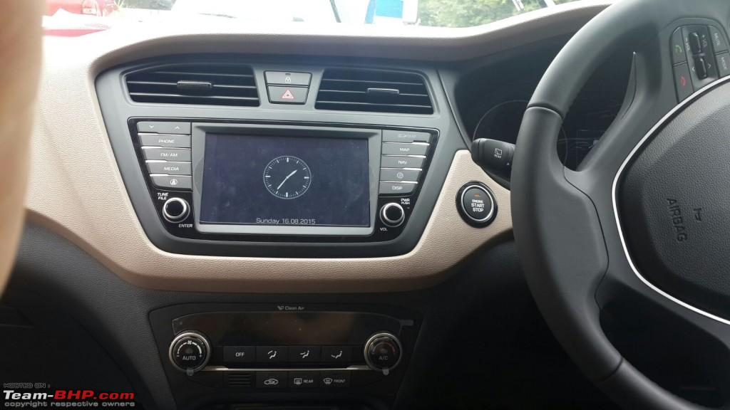 Hyundai i20 interior images 2018 cars models for Interior hyundai i20