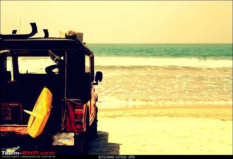 Mahindra Thar : Test Drive & Review-beach1.jpg