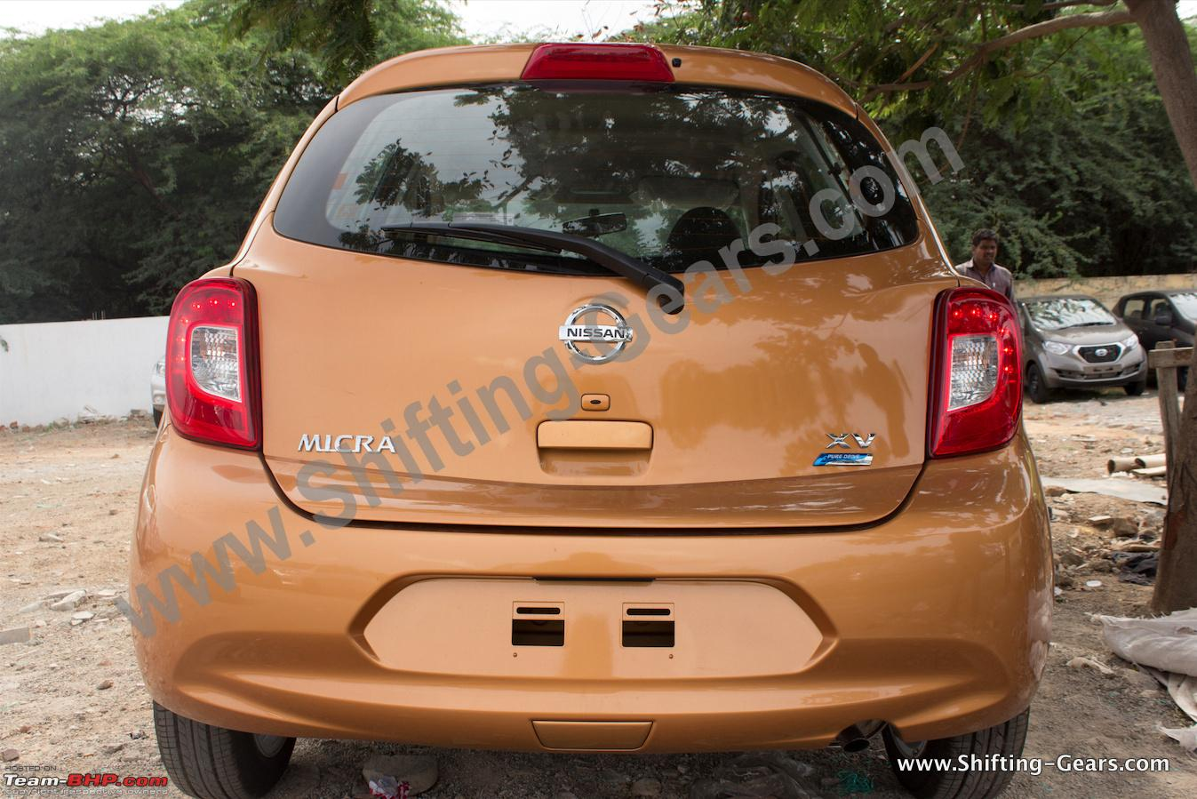 Nissan Micra Facelift Xtronic Cvt Official Review Page 17