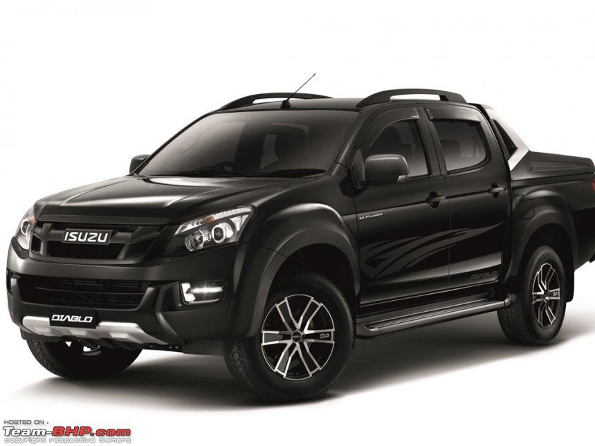 isuzu d max v cross official review page 3 team bhp. Black Bedroom Furniture Sets. Home Design Ideas