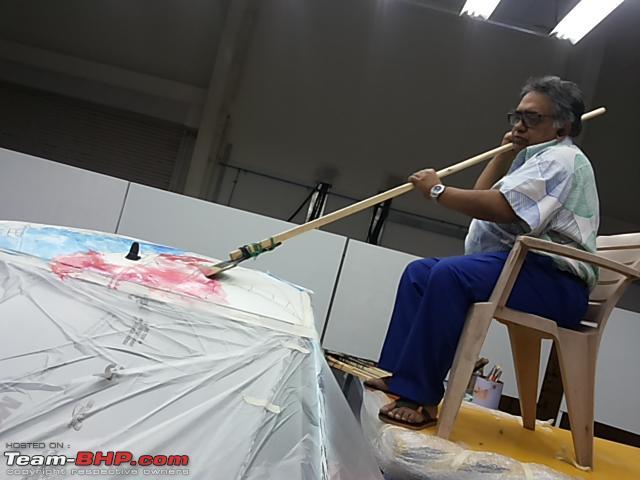 Name:  Sen painting the top of KWID.jpg Views: 2244 Size:  170.8 KB