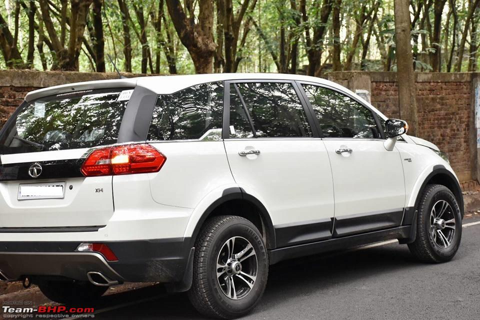 How To Total A Car >> Tata Hexa : Official Review - Page 111 - Team-BHP