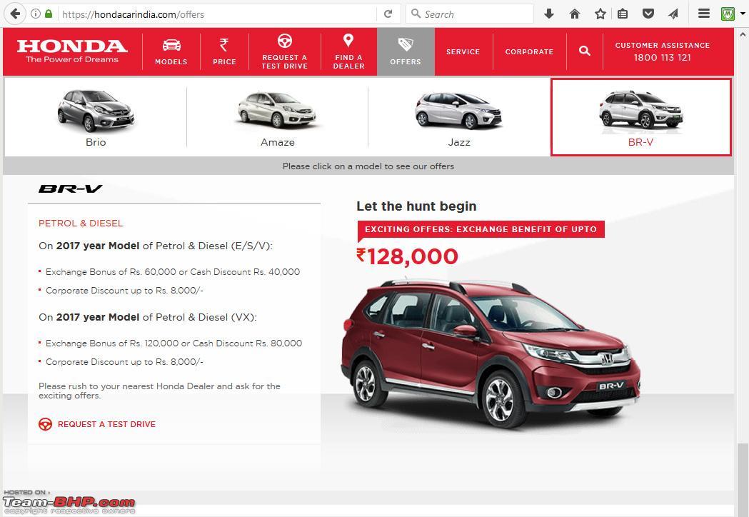 Honda Official Site >> Honda Br V Official Review Page 53 Team Bhp