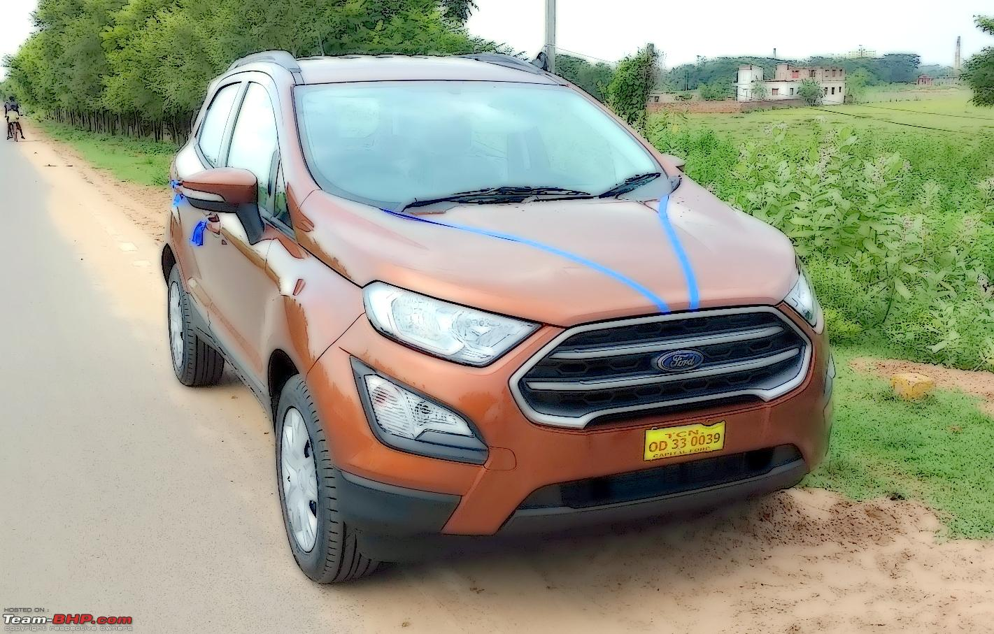 ford ecosport facelift  petrol official review