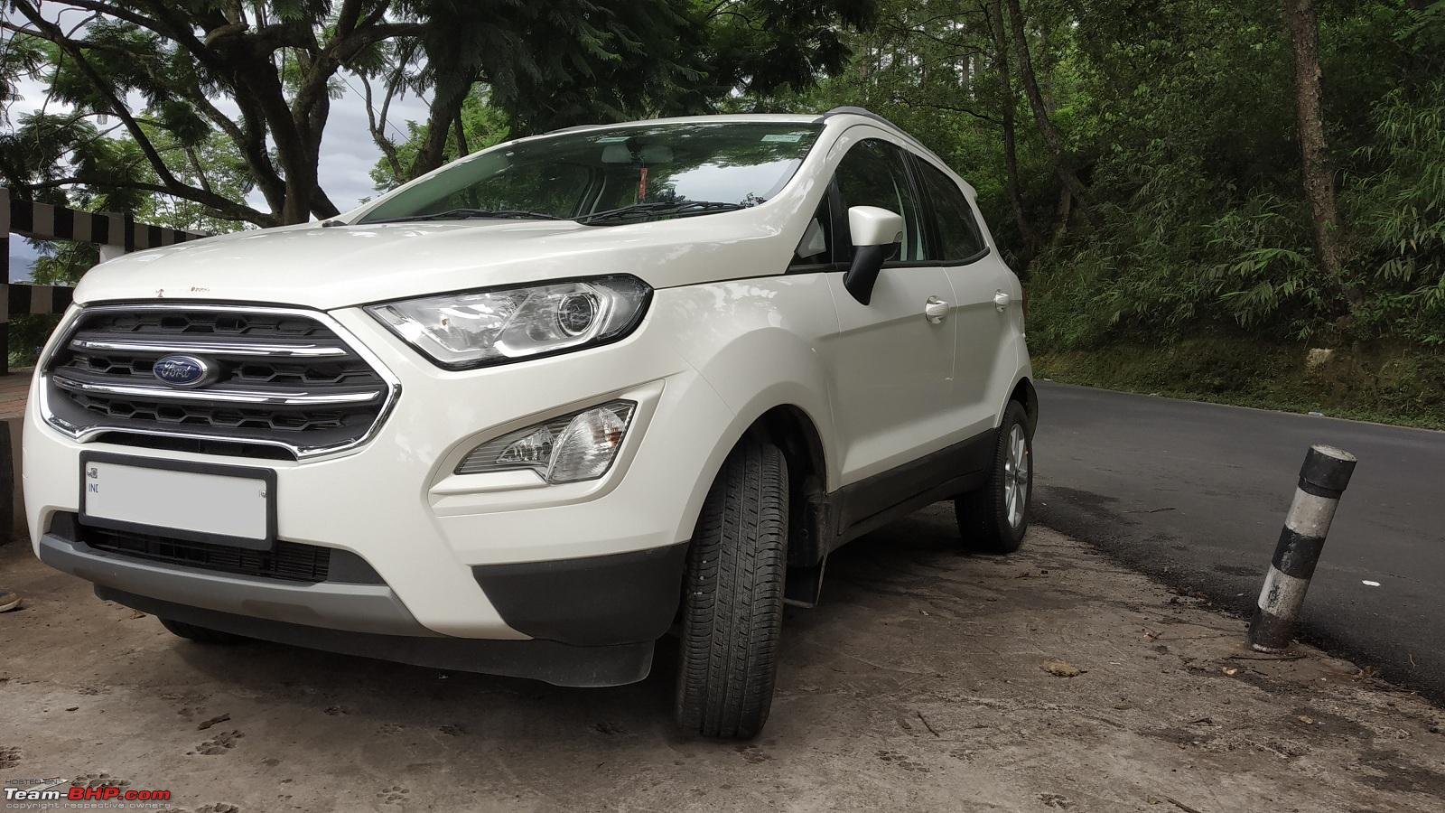2018 Ford Ecosport Facelift 15l Petrol Official Review