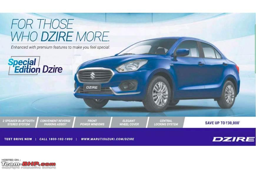 Maruti Suzuki Dzire Team Bhp Review