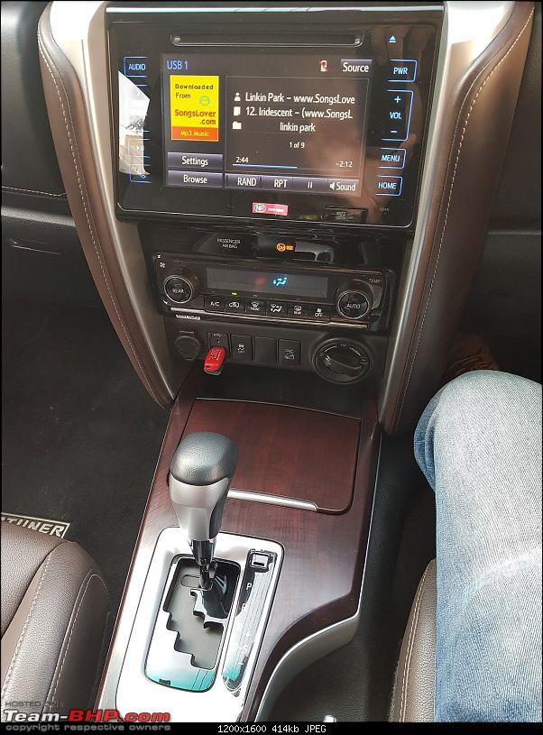 Toyota Fortuner : Official Review-center-console.jpg