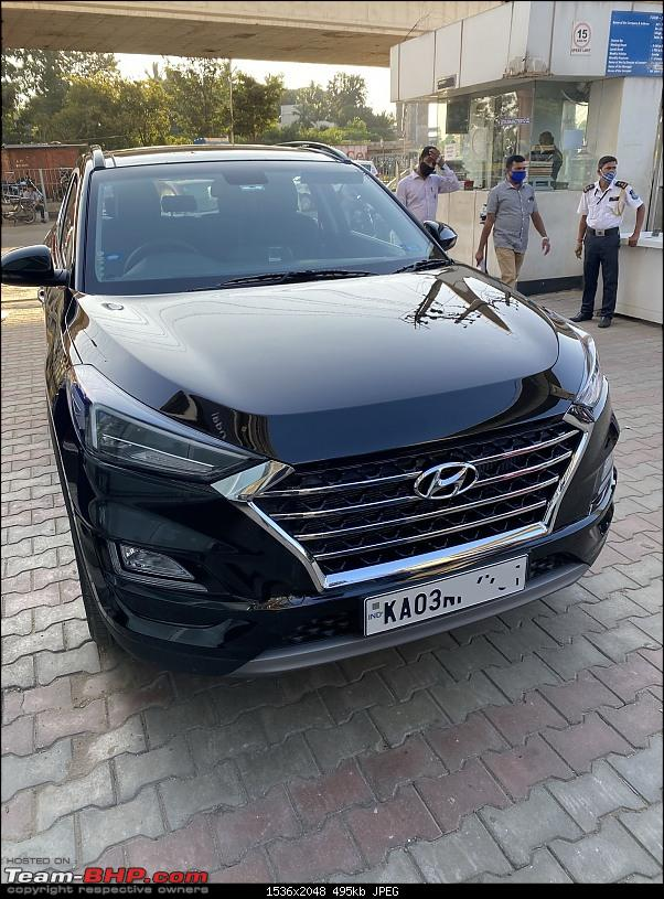 2020 Hyundai Tucson Facelift Review : 2.0L Diesel with 8-speed AT-tuscon_with_licence_plate.jpg